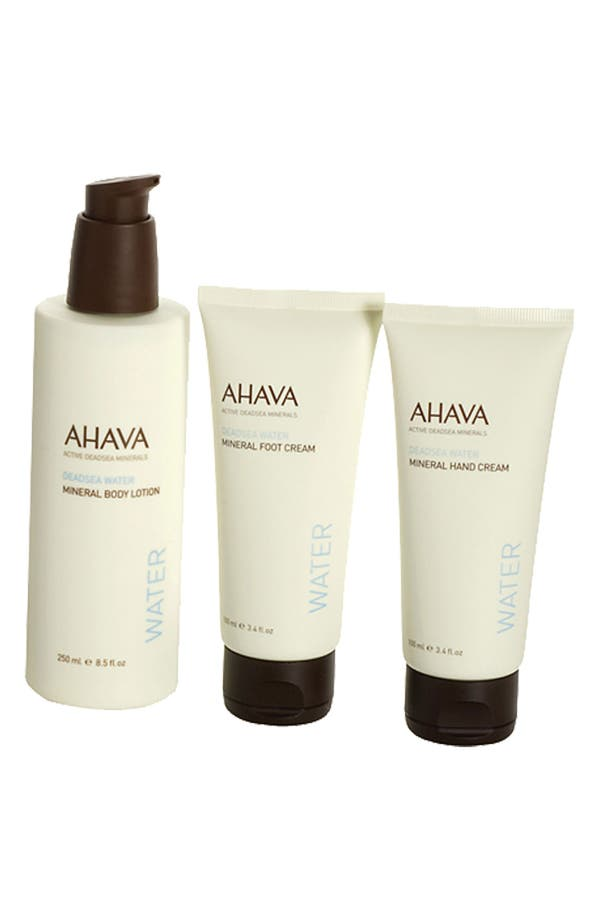 Alternate Image 1 Selected - AHAVA Mineral Body Trio ($63 Value)