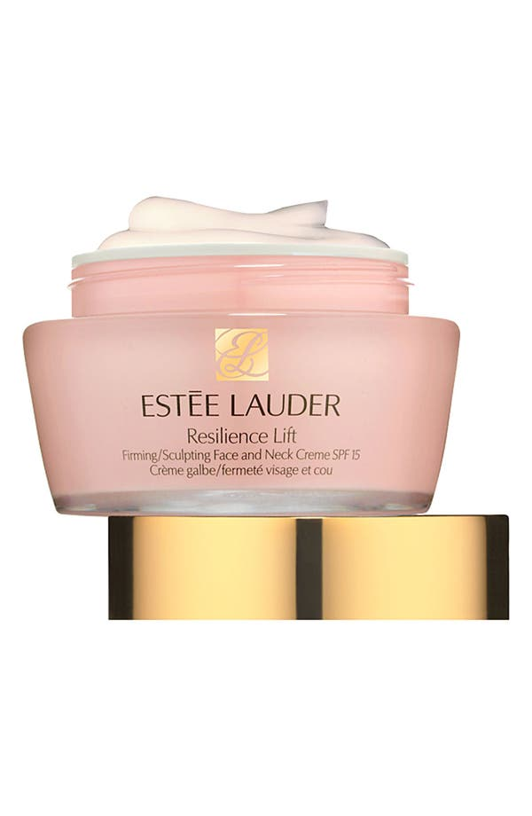 Alternate Image 1 Selected - Estée Lauder Resilience Lift Firming/Sculpting Face and Neck Creme SPF 15 for Dry Skin