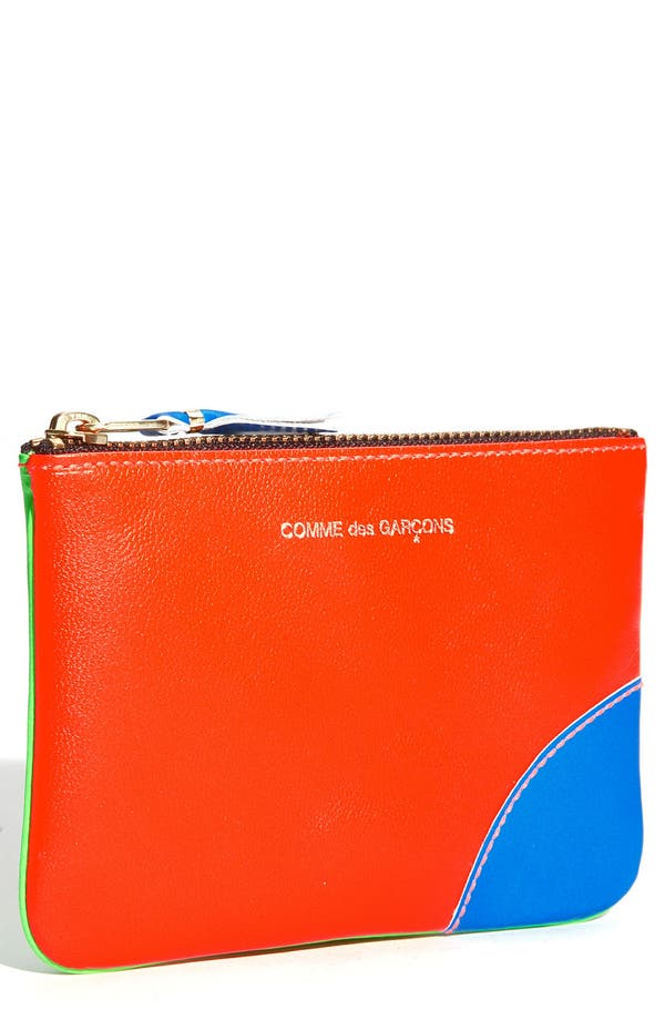 Alternate Image 1 Selected - Comme des Garçons 'Super Fluo - Small' Cosmetics Pouch
