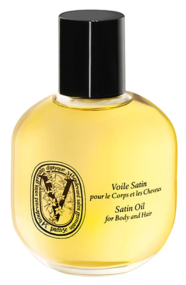 Satin Oil Spray for Body and Hair,                             Main thumbnail 1, color,