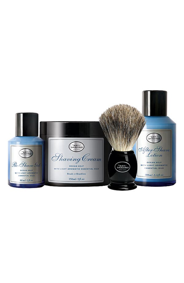 Main Image - The Art of Shaving® 'The Four Elements of the Perfect Shave®' Ocean Kelp Set ($145 Value)