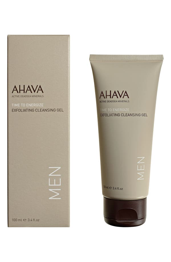 Alternate Image 1 Selected - AHAVA MEN Exfoliating Cleansing Gel