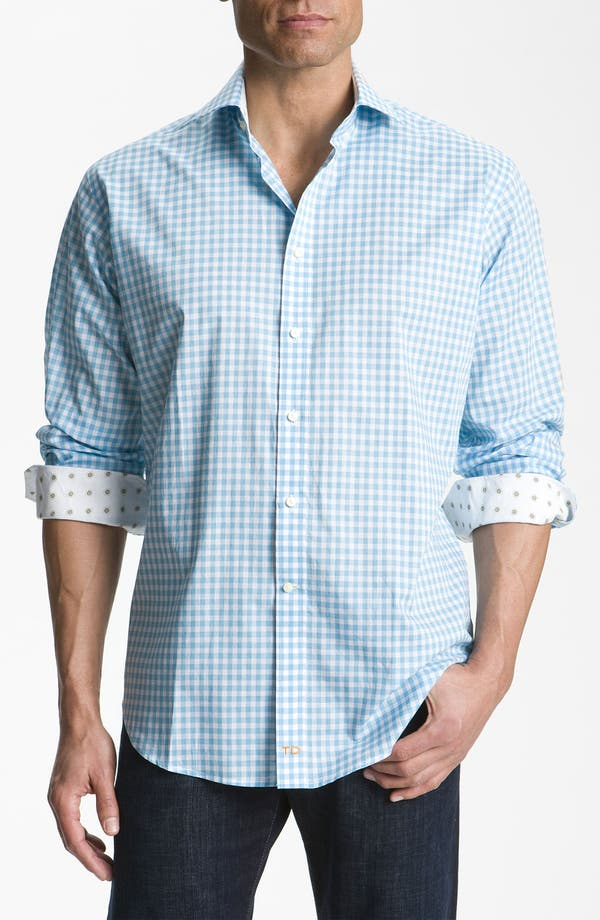 Alternate Image 1 Selected - Thomas Dean Relaxed Fit Sport Shirt