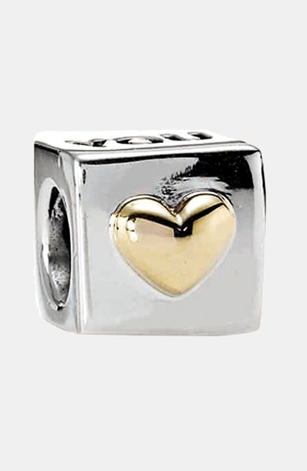Alternate Image 1 Selected - PANDORA 'Love You' Charm