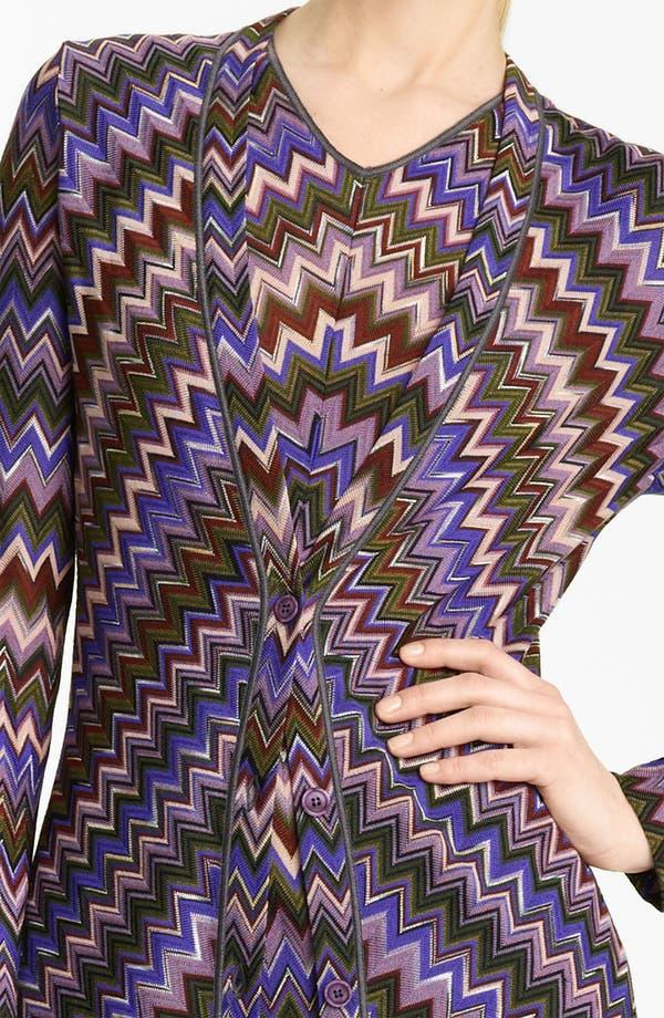 Alternate Image 3  - Missoni Long Zigzag Knit Cardigan