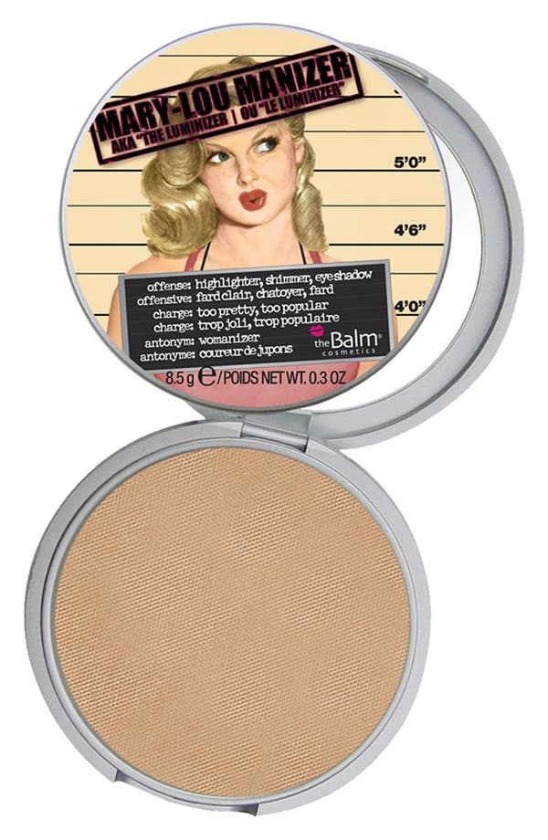 Main Image - theBalm® 'Mary-Lou Manizer®' Highlighting Powder