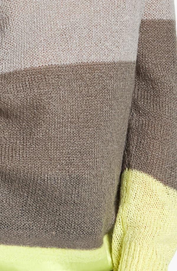 Alternate Image 3  - Hinge® Satin Needle Punch Sweater