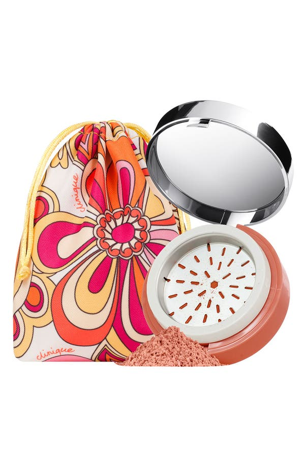 Main Image - Clinique 'Super Balanced' Powder Bronzer & Cosmetics Bag