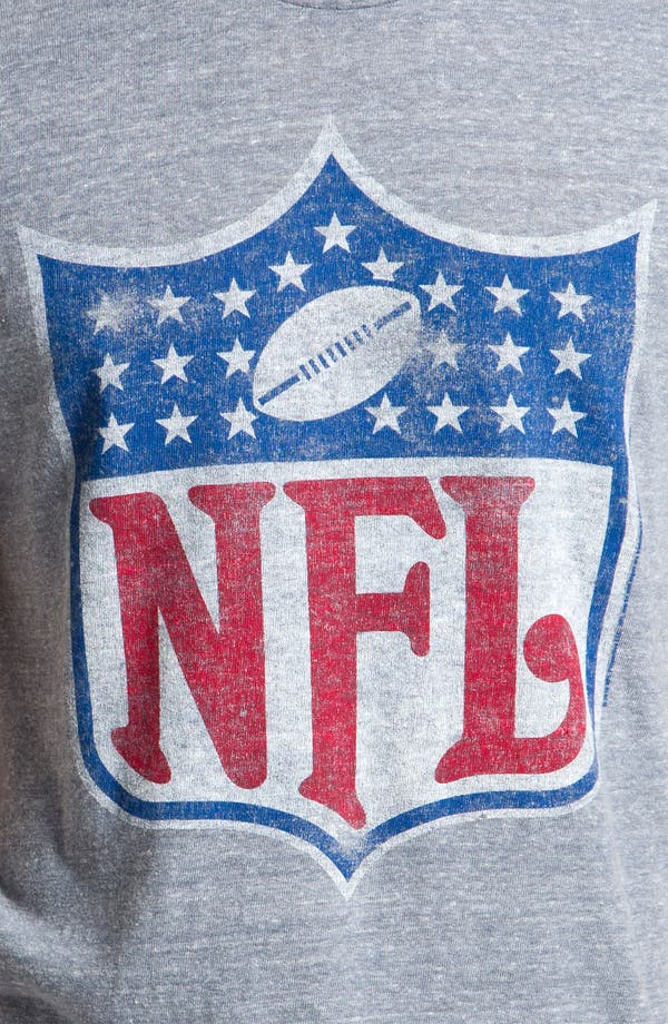Alternate Image 3  - Junk Food NFL Shield Graphic Crewneck T-Shirt
