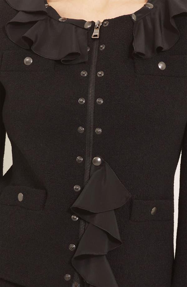 Alternate Image 3  - Moschino Cheap & Chic Detachable Ruffle Trim Jacket