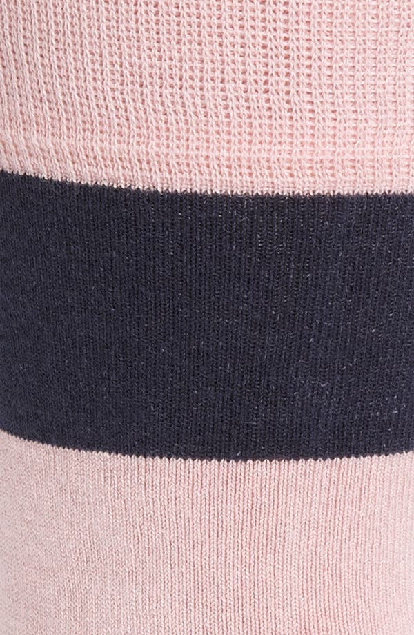 Alternate Image 2  - ugly vix by V.K. Nagrani Rugby Stripe Socks