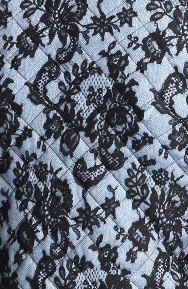 Alternate Image 3  - Oscar de la Renta Quilted Lace Jacket