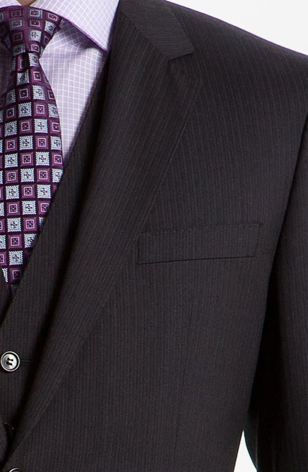 Alternate Image 5  - BOSS Black 'James/Sharp' Trim Fit Three Piece Suit