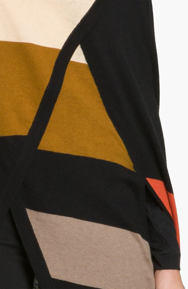 Alternate Image 2  - Halogen® Colorblock Cape