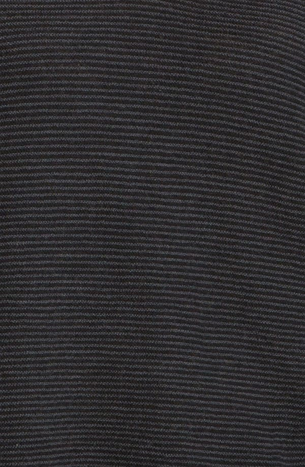 Alternate Image 5  - Eileen Fisher Stripe Wool Crepe Top