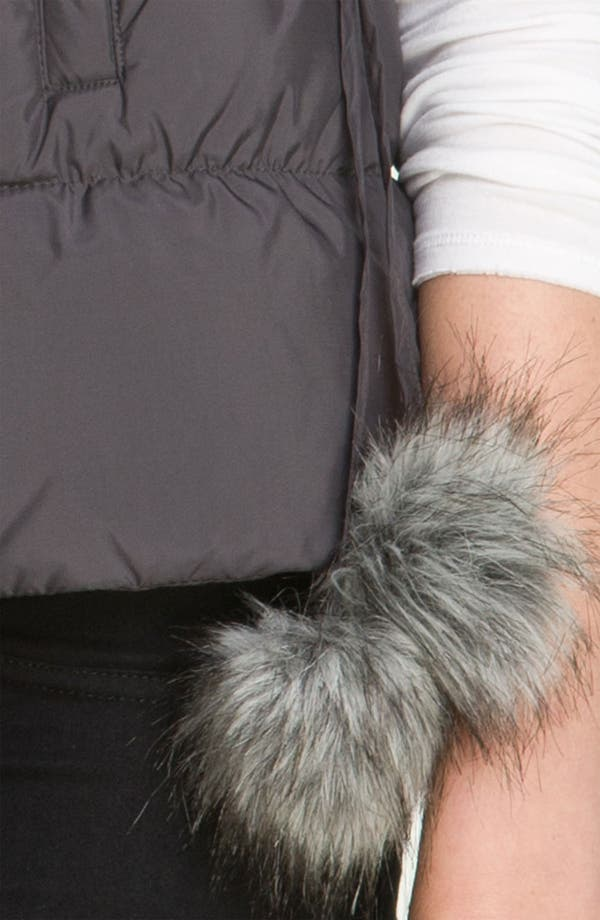 Alternate Image 3  - Betsey Johnson Pompom Quilted Vest