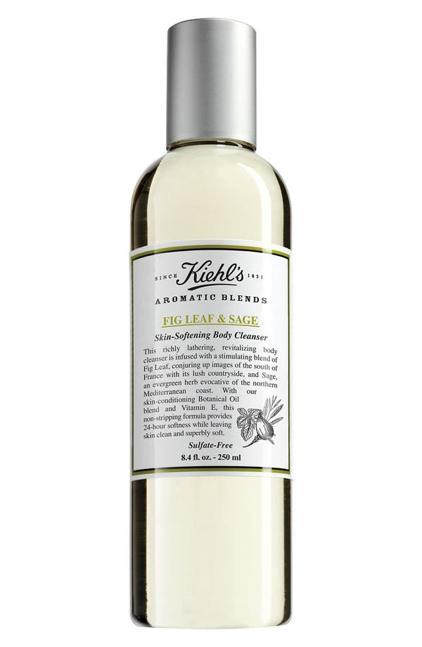 Main Image - Kiehl's Since 1851 'Aromatic Blends - Fig Leaf & Sage' Skin Softening Body Cleanser