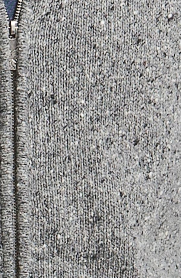 Alternate Image 3  - Hickey Freeman 'Donegal' Wool Blend Zip Cardigan