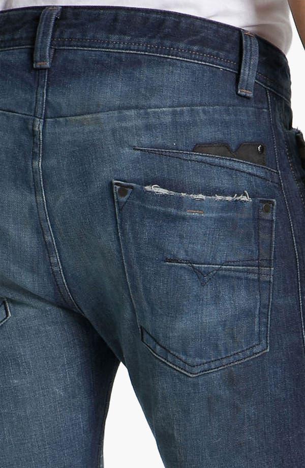Alternate Image 4  - DIESEL® 'Darron' Slim Tapered Leg Jeans (0803W)