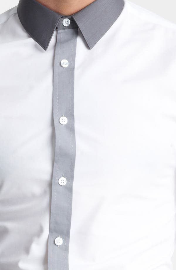 Alternate Image 3  - Topman 'Darren' Extra Trim Dress Shirt