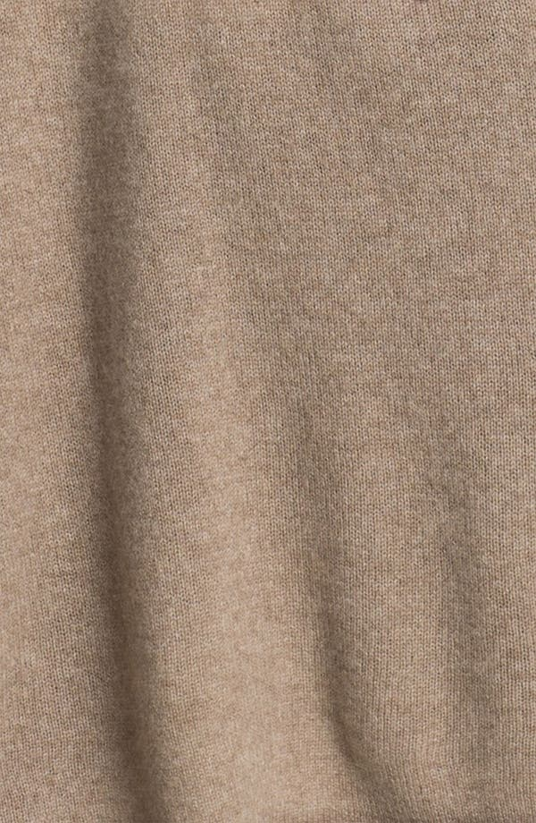 Alternate Image 3  - Nordstrom Collection Tie Back Cashmere Topper