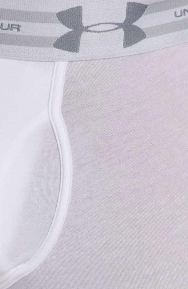 Alternate Image 3  - Under Armour Charged Cotton® Boxer Briefs