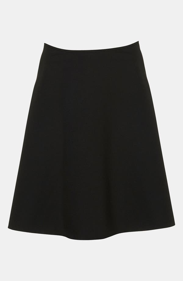 Alternate Image 1 Selected - Topshop Boutique Neoprene A-Line Skirt