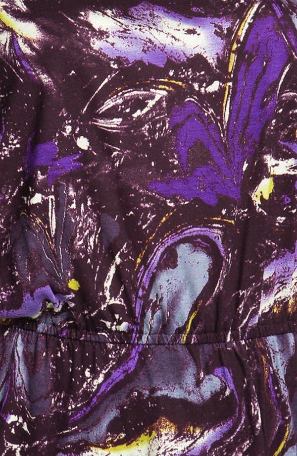 Alternate Image 3  - Olivia Moon Bloused Print Top (Plus)