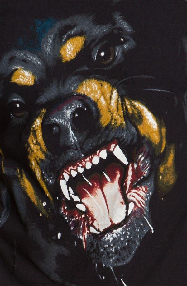 'Rottweiler' T-Shirt,                             Alternate thumbnail 3, color,                             Black
