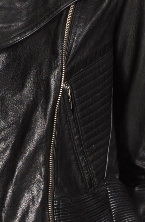 Alternate Image 4  - Theyskens' Theory 'Javda Norinto' Goatskin Moto Jacket