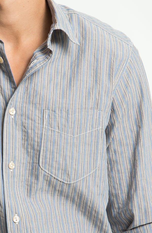 Alternate Image 3  - Façonnable Denim Trim Fit Sport Shirt
