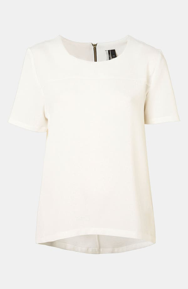 Alternate Image 1 Selected - Topshop Crepe Tee
