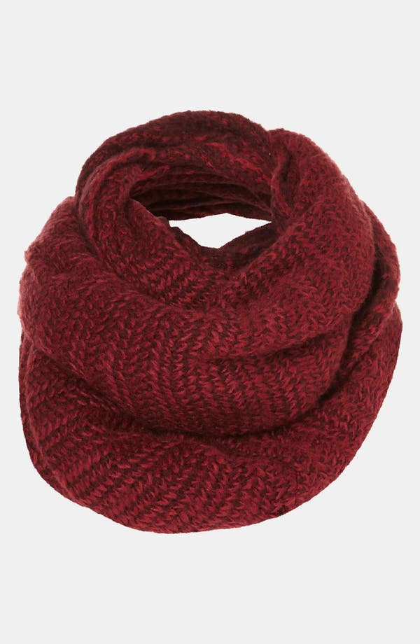 Alternate Image 1 Selected - Topshop Marled Sweater Infinity Scarf