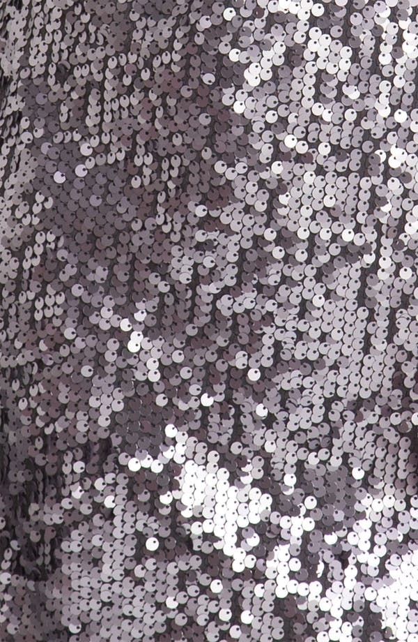 Alternate Image 3  - Aidan Mattox Sequin Cold Shoulder Shift Dress