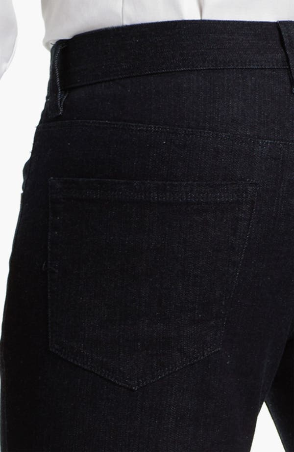 Alternate Image 4  - Michael Kors Straight Leg Jeans (Dark Rinse)