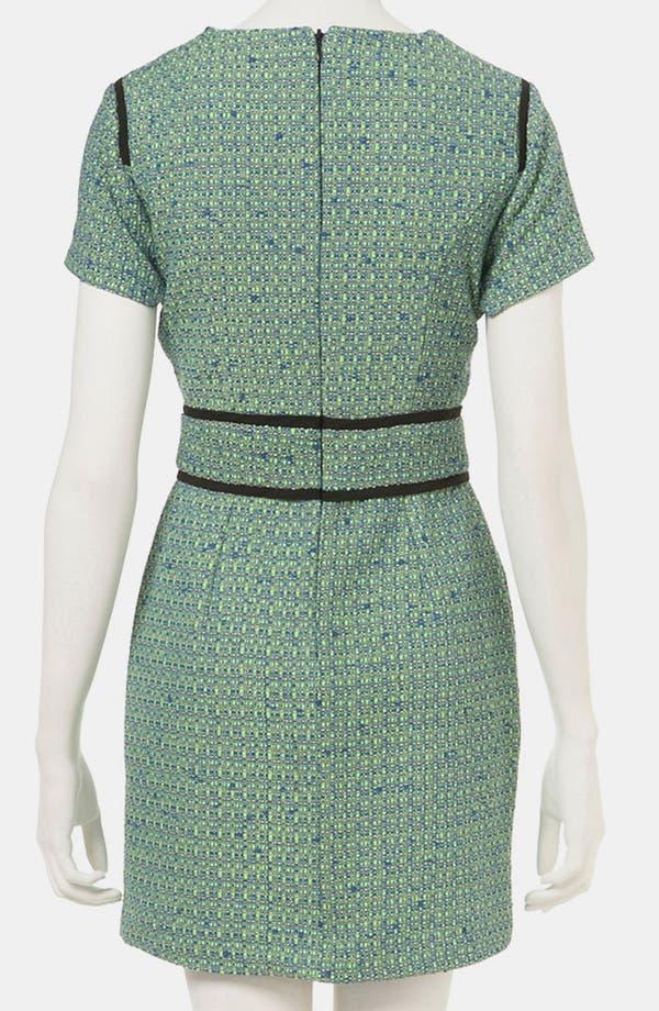 Alternate Image 2  - Topshop Bouclé Pencil Dress