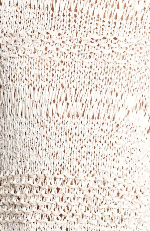 Alternate Image 3  - Donna Karan Collection Ribbon Knit Sweater