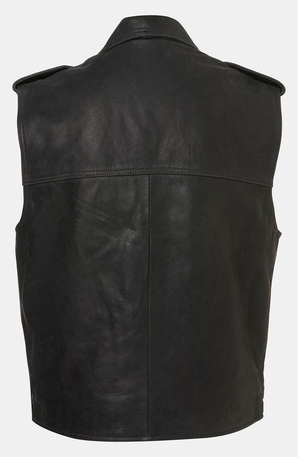Alternate Image 2  - Topshop Boutique 'Sless' Biker Vest