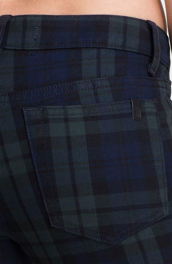 Alternate Image 3  - Joe's Skinny Stretch Denim Jeans (School Yard Plaid)