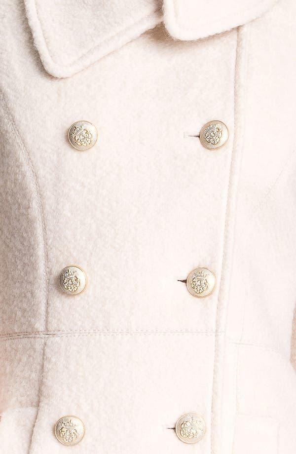 Alternate Image 3  - GUESS Asymmetrical Collar Bouclé Coat (Online Exclusive)