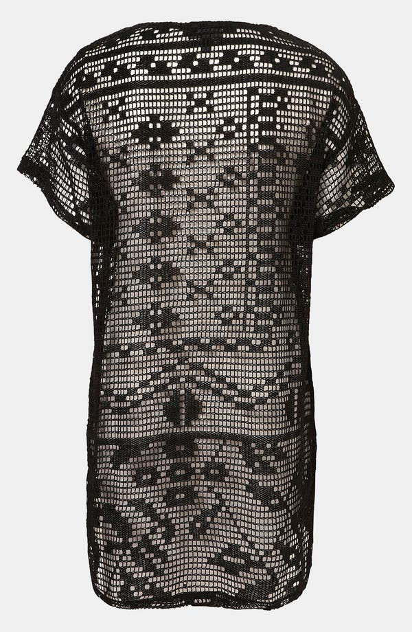 Alternate Image 2  - Topshop Magnified Doily Lace Tee