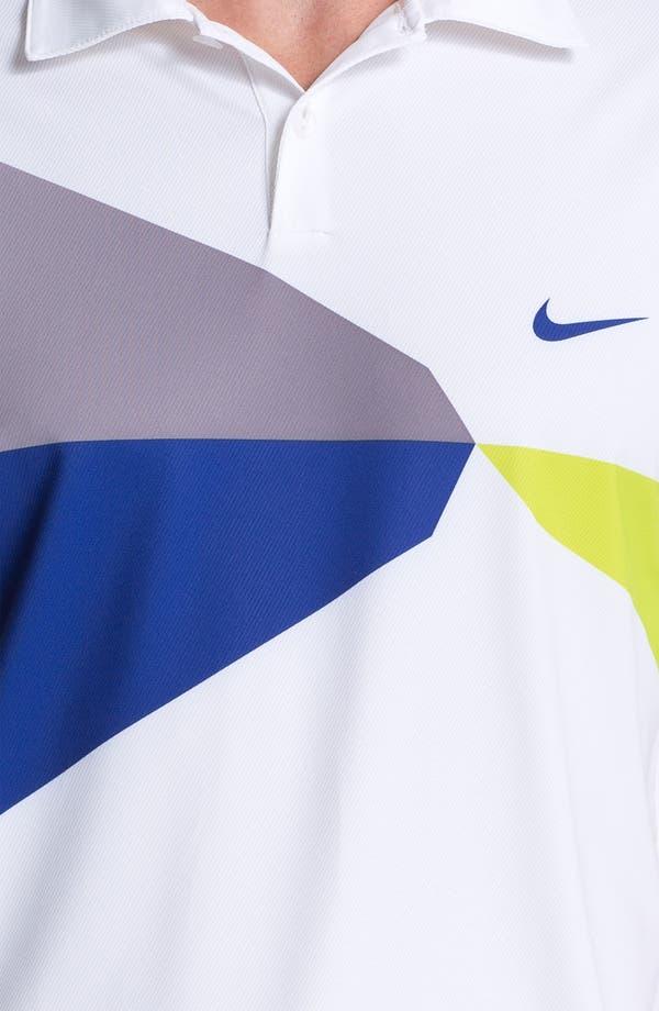 Alternate Image 3  - Nike Golf 'Geo Printed' Dri-FIT Polo