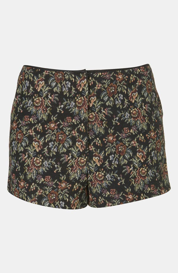Alternate Image 1 Selected - Topshop Tapestry Print Shorts