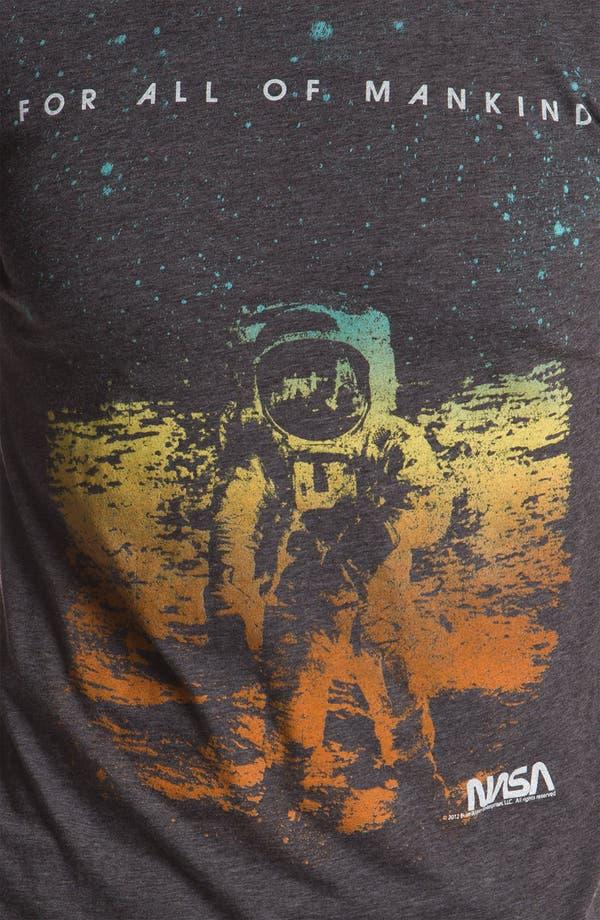 Alternate Image 3  - Free Authority 'NASA Man On Moon' Graphic T-Shirt