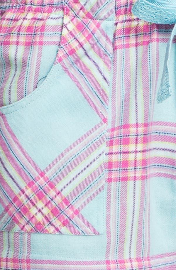 Alternate Image 3  - Make + Model 'Cozy Time' Flannel Boxer Shorts