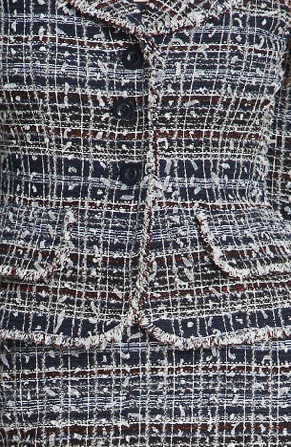 Alternate Image 5  - St. John Collection 'Sutton' Tweed Knit Jacket