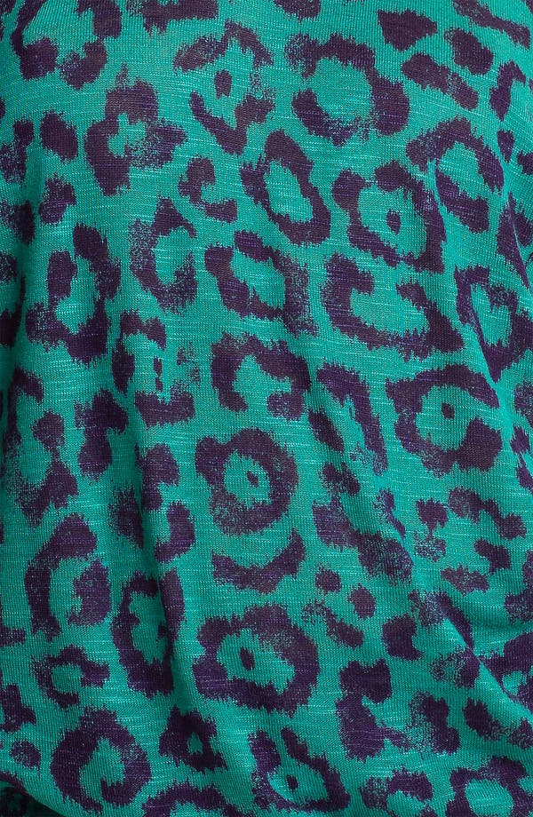 Alternate Image 3  - Ella Moss 'Felix' Animal Print Dolman Top