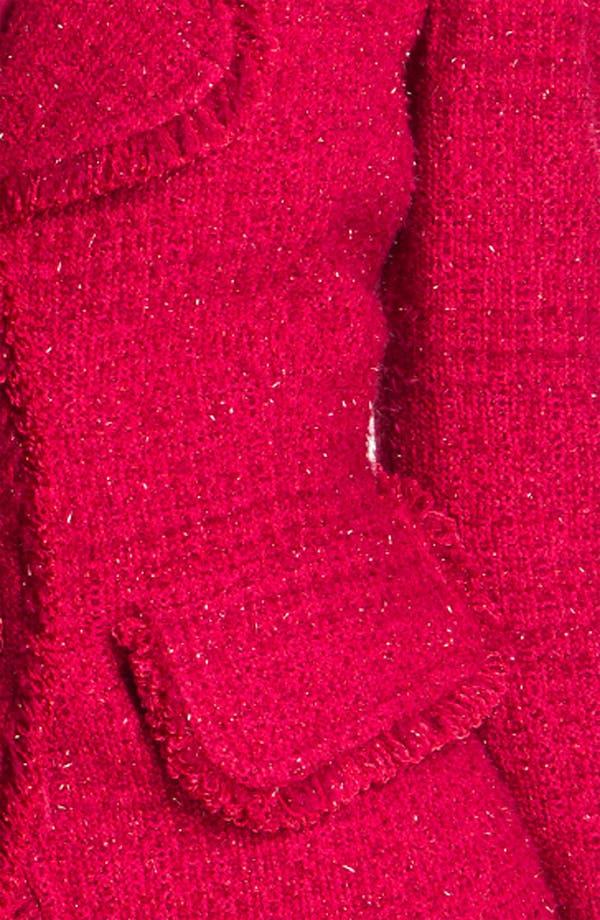 Alternate Image 3  - St. John Collection 'Sparkle Eyelash' Knit Blazer