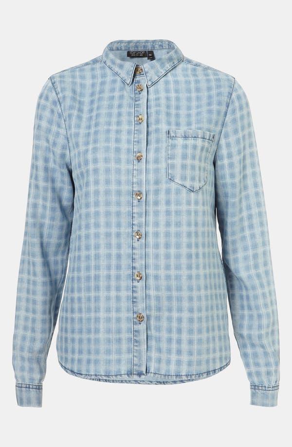 Alternate Image 1 Selected - Topshop 'Penn Check' Shirt
