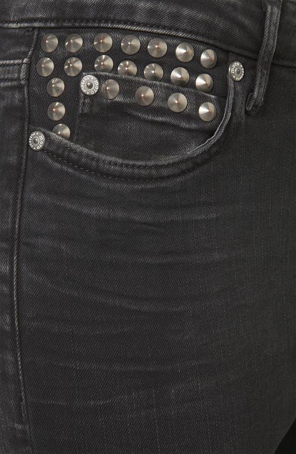 Alternate Image 3  - Topshop Moto 'Jamie' Studded High Waist Skinny Jeans